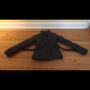 Other - Abercrombie & Fitch puffy coat with belt